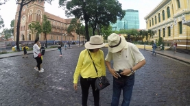 Short trip with parents to Saigon 1